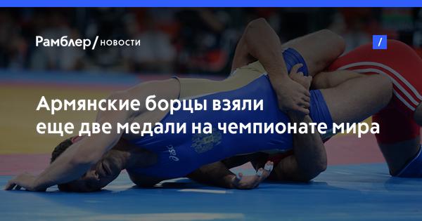 Армянские борцы взяли еще две медали на чемпионате мира среди военных