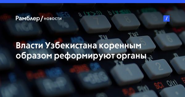 Власти Узбекистана коренным образом реформируют органы статистики